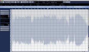 ピッチ修正はサウンドエディター画面で行います