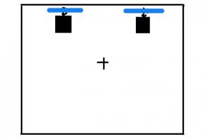 (wall)集音パネル設置位置②
