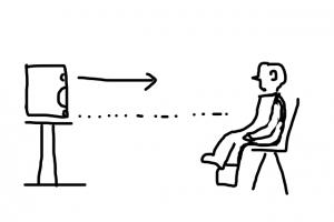 モニター位置(横)